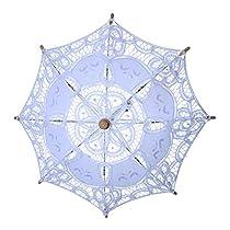 c41ed5fdaee7 ... Ombrelli e parasole. BESTOYARD Ombrellino da sposa in pizzo per la  cerimonia nuziale da sposa damigella d onore