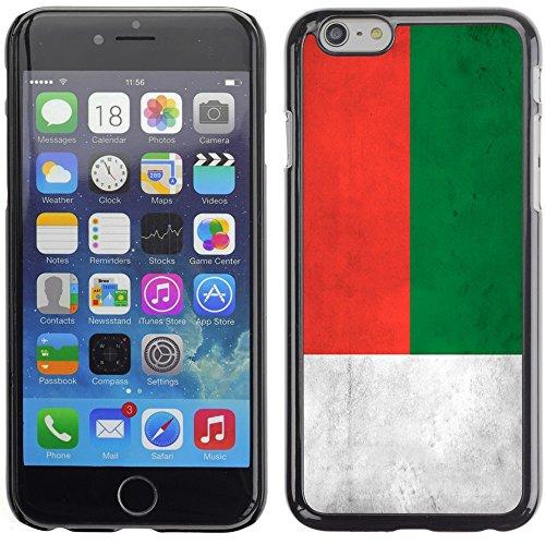 Graphic4You Vintage Uralt Flagge Von Äthiopien Äthiopier Design Harte Hülle Case Tasche Schutzhülle für Apple iPhone 6 Plus / 6S Plus Madagaskar Malagasy