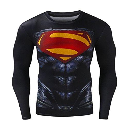 Diamant-herren-shirt (Cody Lundin Herren Mode Held gedruckt Diamant Muster lässigen T-Shirts Gentleman attraktive Casual Hemd des Mannes Sport Dress-Party im Freien Langarm (L))