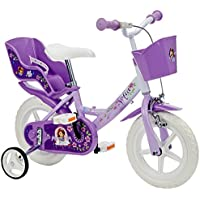 Dino Bikes 124 rl-so, Little Princess Sofia Disney Princess Girls Bike – 12 ""