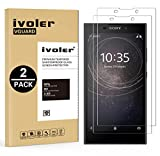iVoler [2 Pack Pellicola Vetro Temperato Sony Xperia L2 [Garanzia a Vita], Pellicola Protettiva, Protezione per Schermo