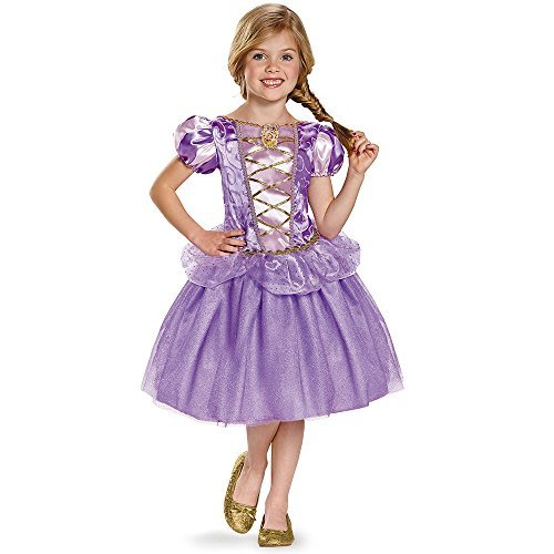 assic Disney Princess Tangled Costume, Medium/7-8 by Disguise ()