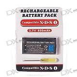 Batterie rechargeable 3,7V 850mAh pour console de jeu portable Nintendo DSI