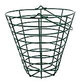 perfk Metall Aufbewahrungskorb Aufbewahrungsbox Kleider Organizer Wäschekorb Drahtkorb Golfball Korb - Fit 100 Bälle