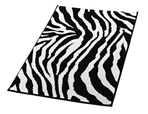 Ridder Teppich Zebra schwarz 60x90 cm