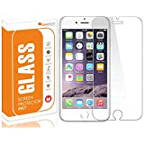 OpenTech® Tempered Glass Screen Protector for Apple iPhone 7 with Installation kit (Covers The Only Main Display Screen Except Edges)