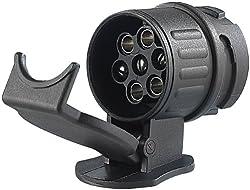 Adapter für PKW und Anhänger 13 Polig auf 7 Polig (Adapter/Anhängerkupplung von 13-Pin Auto auf 7-Pin Anhänger), iapyx®