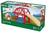 BRIO World 33699 - Bahnbrücke mit Auffahrten, bunt