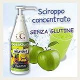 Sciroppo Per Granita Mela Verde Box 6 Bottiglie Da 1000 Gr - Sconto 50% - Officine Gastronomiche
