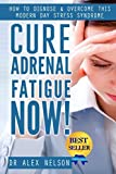 Cure: Adrenal Fatigue: How to Diagnose & Overcome This Modern Day Stress Syndrome ( Hormones, Sleep, Anxiety, Weight Loss, Diet, Burn Fat, Depression, ... Thyroid, Reset, PMS) (English Edition)