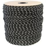 20m POLYPROPYLENSEIL 6mm SCHWARZ Polypropylen Seil Tauwerk PP Flechtleine Textilseil Reepschnur Leine Schnur Festmacher Rope Kunststoffseil Polyseil geflochten