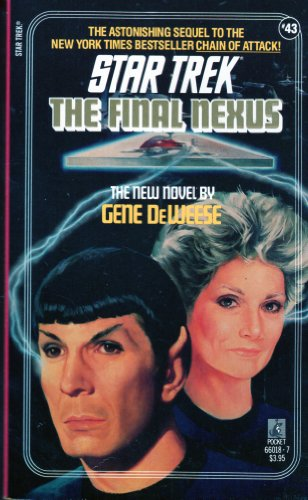 Star Trek The Final Nexus par Gene Deweeze