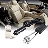 Acogedor ad immersione da auto, 12V/24V Car Hot immersion elettrico riscaldante–viaggio auto auto caldaia elemento riscaldante adatto per campeggio all' aperto, 12V