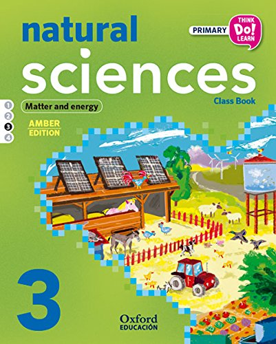 Natural Science. Primary 3. Student's Book. Amber - Module 3 (Think Do Learn) - 9788467396324