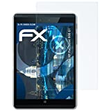 atFolix Schutzfolie kompatibel mit HP Pro Tablet 608 G1 Panzerfolie, ultraklare & stoßdämpfende FX Folie (2X)