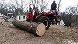 Lumberjack LS400P 4 TON 370MM Electric Hydraulic Wood Log Splitter 240V, Red