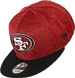 New Era NFL San Francisco 49ERS Authentic 2018 Sideline 9FIFTY Snapback Home Cap, Größe :S/M