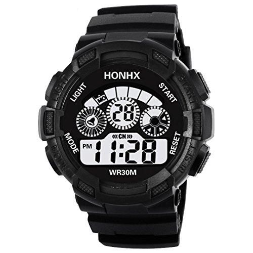 Reloj Personalizado como Regalo Niños a Prueba de Agua LED Digital Reloj Deportivo Fecha de Alarma para Niños Reloj de Regalo