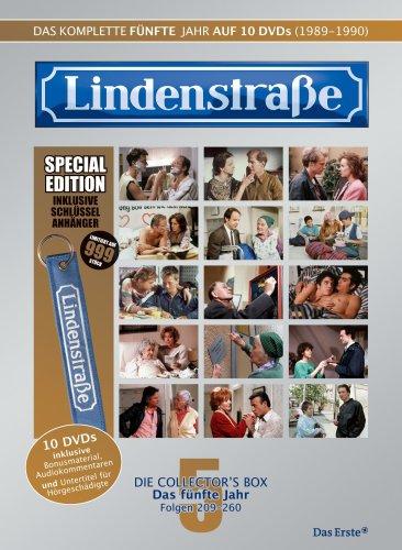 Lindenstraße - Das komplette 5. Jahr (Ltd. Edition mit Schlüsselanhänger, 10 DVDs)