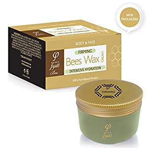 Fysio Firming Cream for Body, Face, Neck & Breast | Natural Moisturiser with Organic Beeswax | Visibly Firmer And Tighter Skin | Suitable with Massager, Body Wraps, Pants & Derma Roller | 200ml