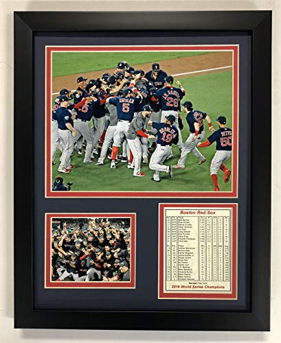 B Boston Red Sox 2018 World Series Champions gerahmtes Foto-Collage, 30,5 x 38,1 cm ()