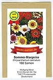 Chrysanthemum carinatum - Sommer-Margerite - 100 Samen