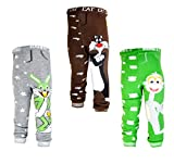 backbuy] 3 - hose 0-24 monate baby Jungen kleinkind leggings hosen - hose PN2N3N8 (18-24 Monate)