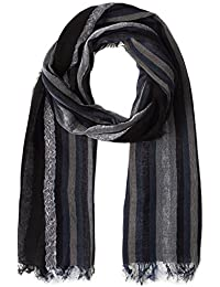 Diesel Spoly 81E Black And Blue Scarf