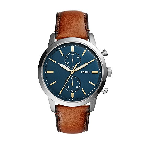 Fossil Analog Blue Dial Men's Watch - FS5279