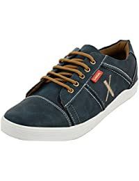 Styliano Men's Blue Synthetic Casual Shoes