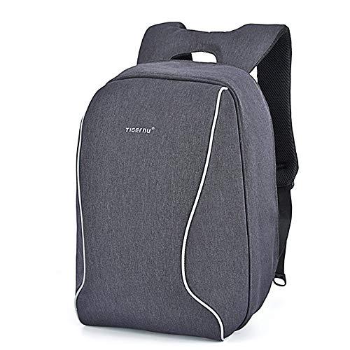 "[Notebook-Rucksack] Anti-Diebstahl Business Backpack Tigernu schwarz-grau 43 cm x 29 cm x 14 cm, 17"", Robustes Oxford Gewebe"