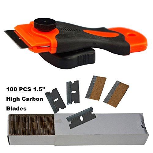 ehdisr-15-mini-raschietto-rasoio-con-100pcs-acciaio-al-carbonio-singolo-bordo-razor-blades-per-la-ri