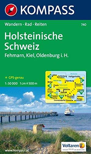 Naturpark Holsteinische Schweiz: 1: 50.000. Wandern, Rad. GPS-genau