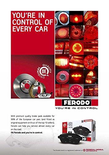 Premier Kit Pastiglie Freno Ferodo FDB4078 Freno A Disco - confezione 4 pezzi