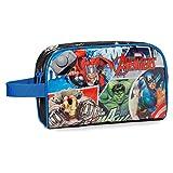 Marvel Avengers Street Neceser de Viaje, 4.99 litros, Color Azul