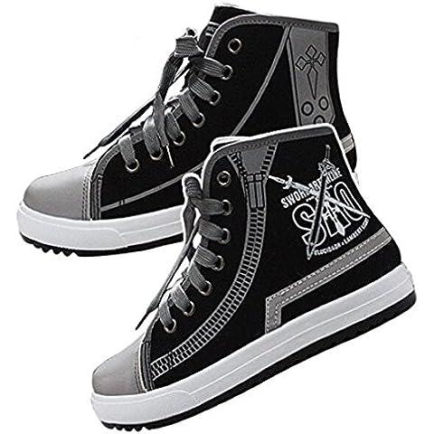 Bromeo Sword Art Online Unisexo Hola-Top Zapatillas de lona Trainers Zapatos Shoes