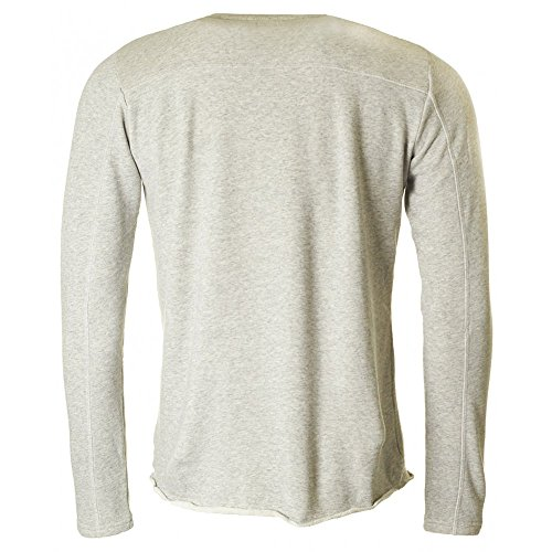 Edwin Terry Towelling Crew Neck Sweatshirt GREY MARL