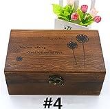 Holzsammlung Nähen Kit Über 110 Premium Nähzubehör, Nähkorb Notfall Nähkörbe mit Zubehör Haushalt Portable Näharbeit Holz Box Mini Haushalt Näh Set für Haus, Reise und Notfall #4