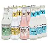 Set-Fever-Tree Tonic Water,Mediterranean,Premium Indian,Aromatic,Elderflower,Inklusive Pfand (12 Flaschen Mix)