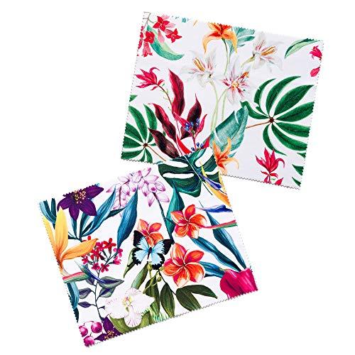 FEFI - Brillenputztuch Flowers - Microfasertuch (Flower Set 1)
