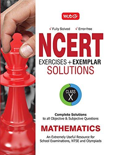 NCERT Exercises + Exemplar Solutions Mathematics - Class 10