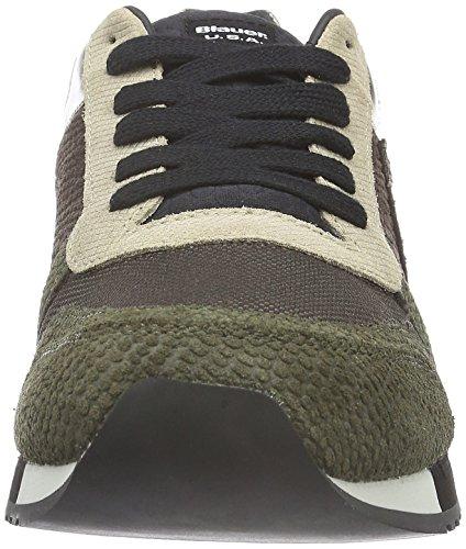 Blauer USA Herren Runori Sneakers Braun (Tarmac)