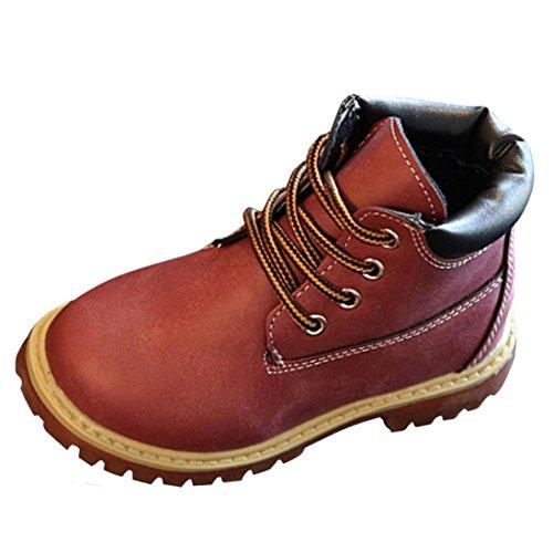 12shage Kinder Mode Jungen Mädchen Martin Sneaker Stiefel (Size(CN):28, (Säuglings Kuh Kostüme)
