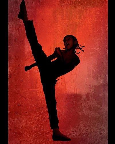 Moviestore Jaden Smith als Dre Parker in The Karate Kid 25x20cm Farbfoto (Kid Karate Jaden Film Smith)