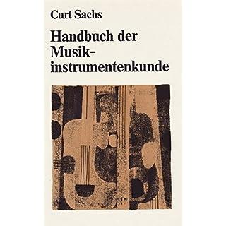 Handbuch der Musikinstrumentenkunde (BV 51)