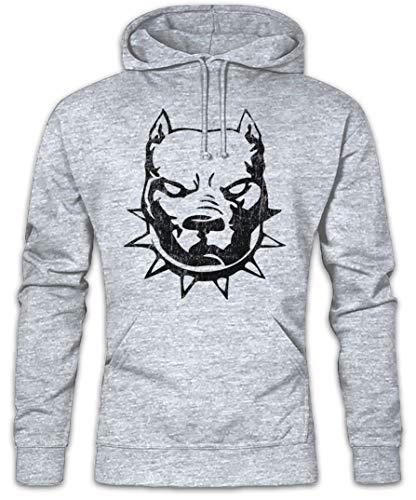 Urban Backwoods Pitbull Hoodie Kapuzenpullover Sweatshirt - Größen S - 2XL -