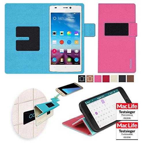 reboon Hülle für Gionee F103 Tasche Cover Case Bumper   Pink   Testsieger