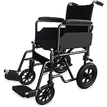 Silla de ruedas S230 de acero y transit - Prim ancho de asiento 40 cm