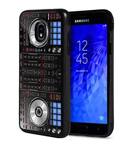 Galaxy J3 2018/Amp Prime 3/J3 / J3 Star Hülle, DJ-Mixer, Deck Controller, schlankes Design, Kratzfest, Gummi-Schutzhülle für Samsung Galaxy J3 (2018) - Dj-mixer Amp