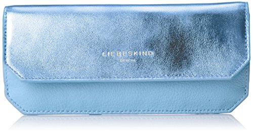 Liebeskind Berlin Damen Marina Grpome Geldbörse, Blau (Pacific Blue), 1x20x10 cm -